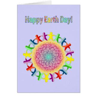 Glücklicher Tag der Erde! Genießen Sie die Karte