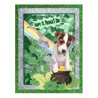 Glücklicher Tag St. Patricks der Postkarte