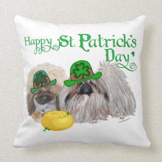 Glücklicher Tag St. Patricks Kissen