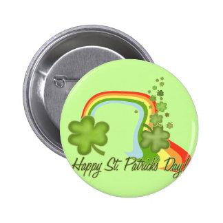 Glücklicher Tag St. Patricks Runder Button 5,1 Cm