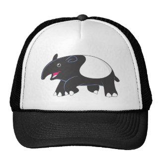 Glücklicher Tapir Baseball Caps