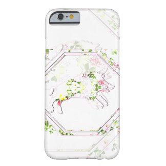 Glücklicher Telefonkasten des Schweins | Barely There iPhone 6 Hülle