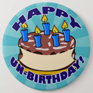 Glücklicher UNO-Geburtstag! Runder Button 15,3 Cm