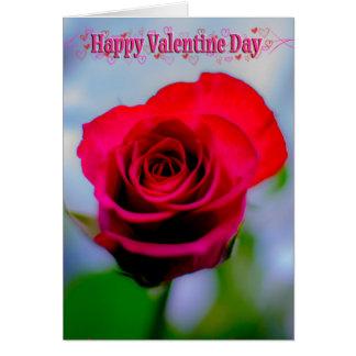Glücklicher Valentinstag Grußkarte