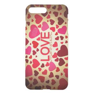 Glücklicher Valentinstag iPhone 8 Plus/7 Plus Hülle