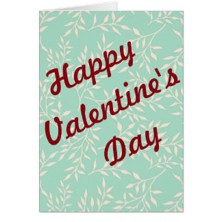 Glücklicher Valentinstag nicht traditionel Karte