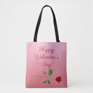 Glücklicher Valentinstag Tasche