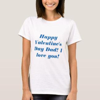 Glücklicher Valentinstag-Vati T-Shirt