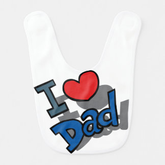 glücklicher Vatertag Lätzchen
