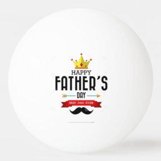 Glücklicher Vatertags-Klingeln Pong Ball Tischtennis Ball