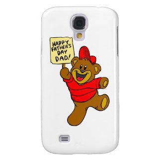 Glücklicher Vati-Jungen-Bär des Vatertags-| Galaxy S4 Hülle