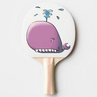 Glücklicher Wal Tischtennis Schläger