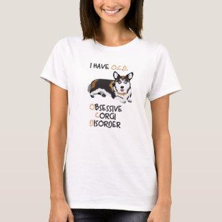 Glücklicher WaliserPembroke - besessene T-Shirt