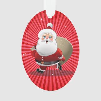 Glücklicher Weihnachtsmann Ornament
