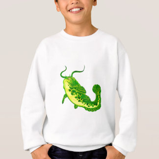 Glücklicher Wels Sweatshirt