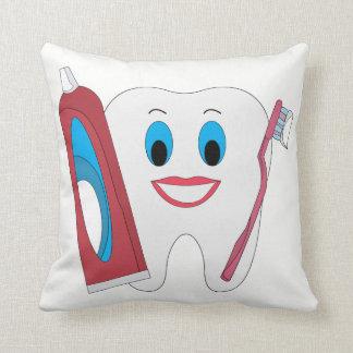 Glücklicher Zahn Kissen