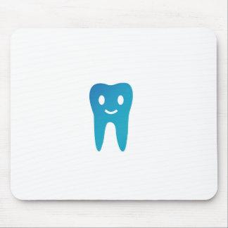 Glücklicher Zahn Mousepad