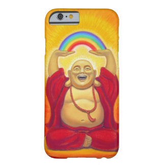 Glücklicher Zen, der Buddha iPhone 6 Fall lacht Barely There iPhone 6 Hülle