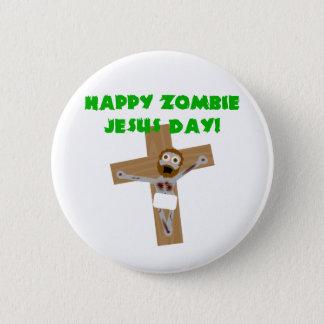Glücklicher Zombie-Jesus-Tag Runder Button 5,1 Cm