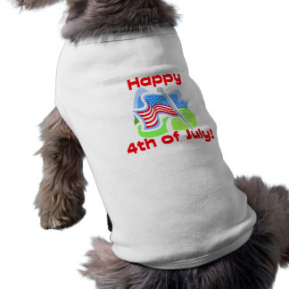 Glückliches 4. des Juli-HundeT - Shirt