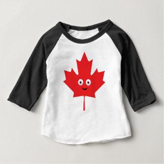 Glückliches Ahornblatt Baby T-shirt