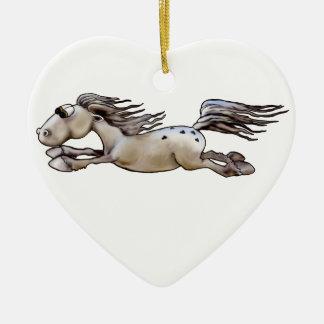 Glückliches Appy Keramik Ornament