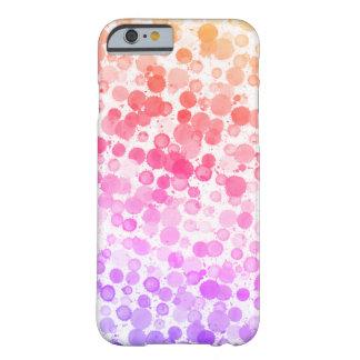 Glückliches Aquarell punktiert kundenspezifischen Barely There iPhone 6 Hülle
