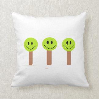 Glückliches Baum-Kissen Kissen