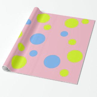 Glückliches Blasen-Packpapier Geschenkpapier