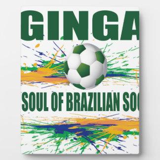 Glückliches Brasilien Fotoplatte