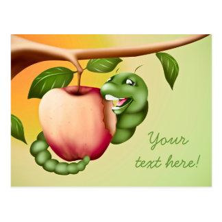 Glückliches Catterpillar Postkarte