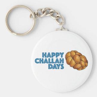 Glückliches Challah-TagChanukah Chanukka Geschenk Schlüsselanhänger