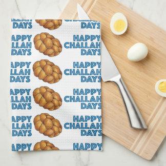 Glückliches Challah-TagChanukah Chanukka Küchentuch
