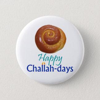 Glückliches Challah-TagRnd Button