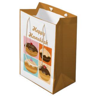 Glückliches Chanukka Medium Geschenktüte