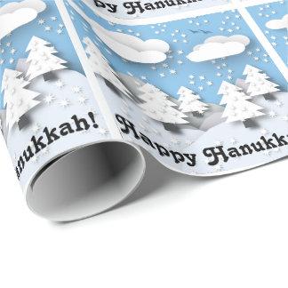 Glückliches Chanukka! Niedliches Geschenkpapier
