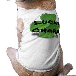 Glückliches Charme-Shirt des Haustieres Top