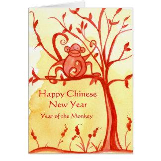 Glückliches Chinesisches Neujahrsfest des Karte