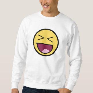 Glückliches fantastisches Gesichts-Sweatshirt Sweatshirt