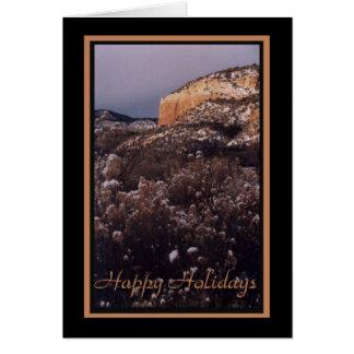 Glückliches Feiertag-MESA Karte