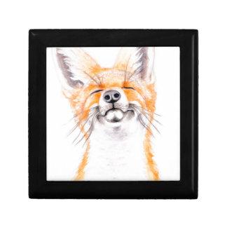 Glückliches Foxy Erinnerungskiste