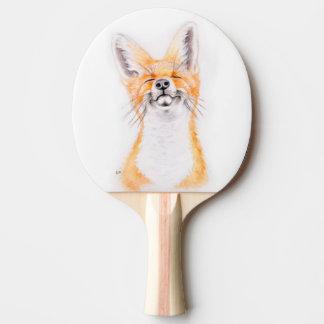 Glückliches Foxy Tischtennis Schläger