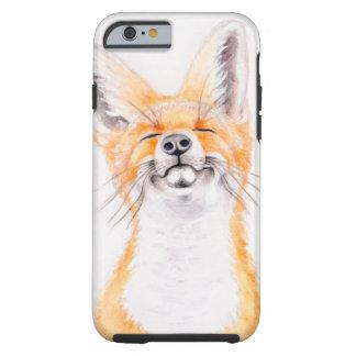 Glückliches Foxy Tough iPhone 6 Hülle