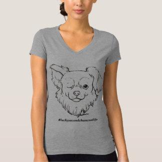 Glückliches Frauen-Shirt T-Shirt