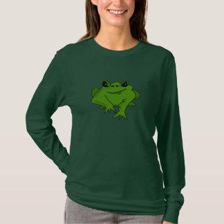 Glückliches Frosch-Entwurfs-T-Shirt T-Shirt