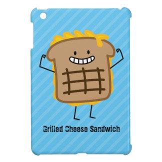 Glückliches gegrilltes Käse-Sandwich Hülle Für iPad Mini