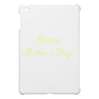 Glückliches Gelb der Mutter Tagesdie MUSEUM Zazzle iPad Mini Schale