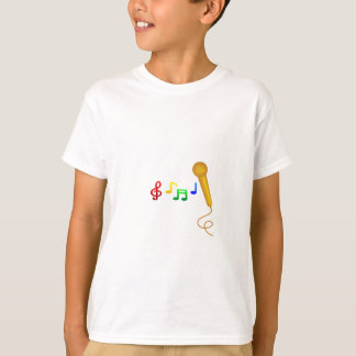 Glückliches Gesang-Musik-Karaoke T-Shirt