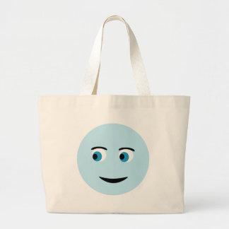 Glückliches Gesicht Tasche