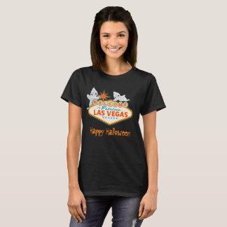 Glückliches gespenstisches Halloween Las Vegas T-Shirt